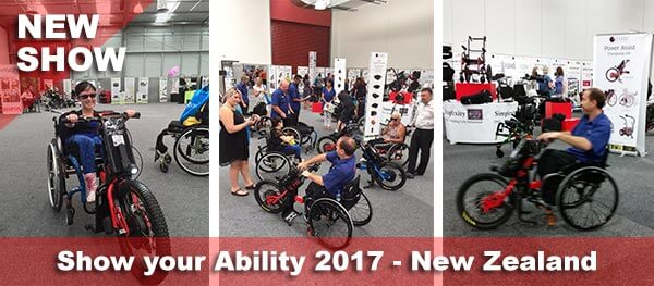 Batec Mobility at Show your Ability 2017 (New Zealand) - Batec Mobility