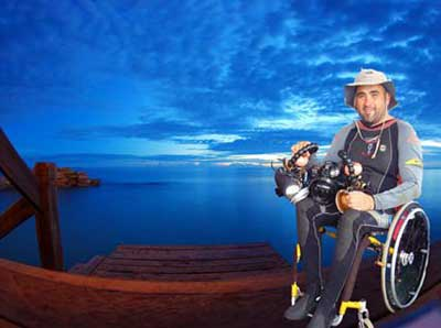 blog bateclifestyle diving with a disability and taking underwater photos twice the challenge in a wheelchair