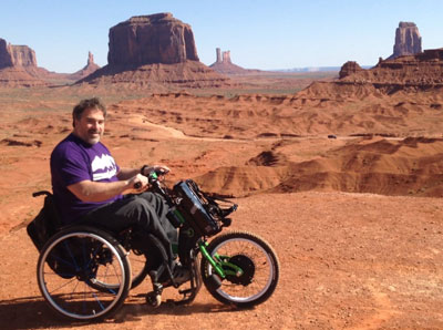 blog batectravels three accessible destinations to travel with a wheelchair and a handbike