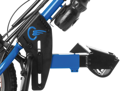 attach and detach any batec handbike in just seconds