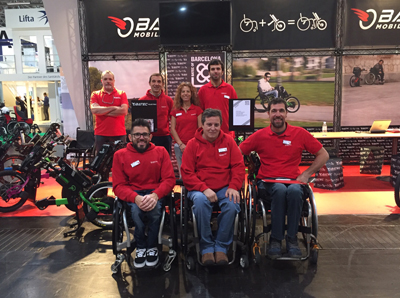 first day at rehacare 2015