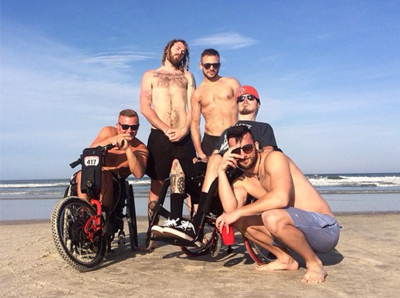 rolling through orlando with a batec handbike to overcome a spinal injury