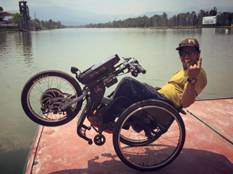 i ve been born three times and in this third life i want to bring the batec handbikes to all of my people