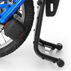 our handbikes models batec manual specifications batec safe feet stand frame